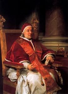 Clemens XIII ontmoeting met Casanova